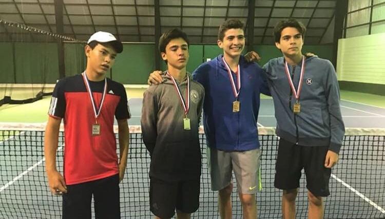 Patrocinador Oficial Torneo de Tenis Para la lucha contra el Cáncer infantil