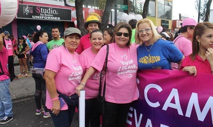 Carrera Para la lucha Contra el Cáncer de mama